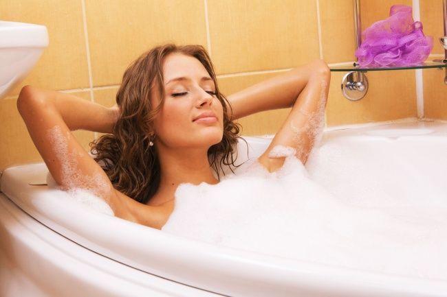 Un bel bagno caldo