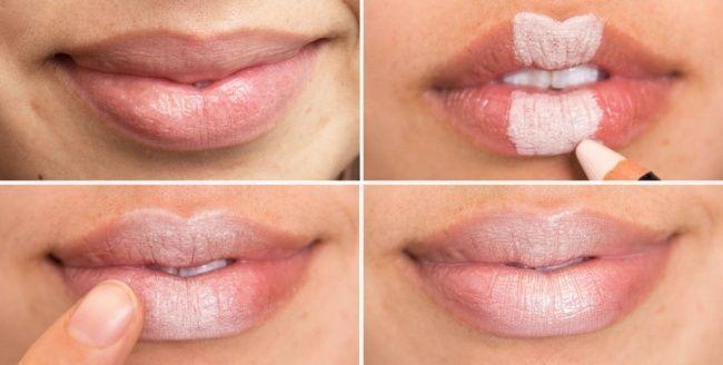 Make up per le labbra