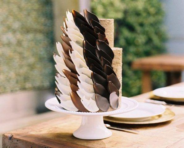 Petali di cioccolato