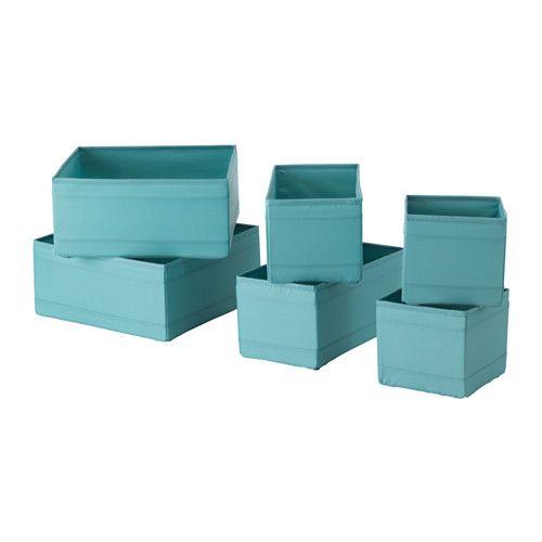 SKUBB Set di 6 scatole, azzurro € 6,99