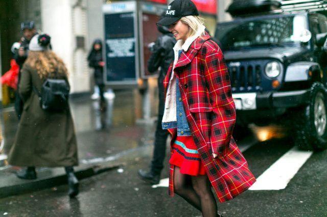 Giacca di Jeans sotto il cappotto