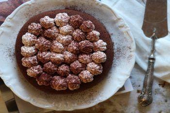 La video ricetta della torta al cioccolato in padella