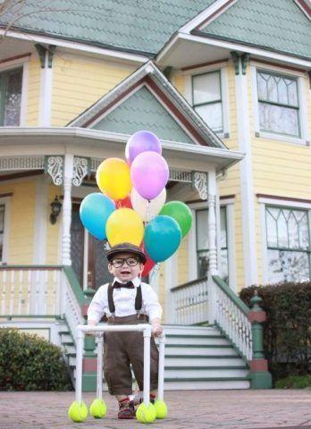 Costume di Carnevale fai da te: Up