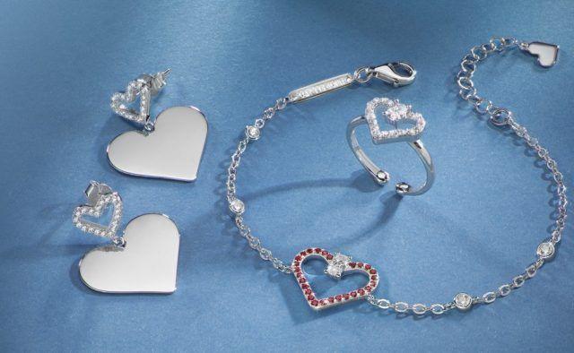 Gioielli Cuori in argento di Morellato
