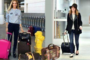 All'aeroporto vestitevi come le celebs!