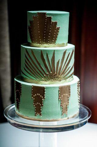 Torta verde e oro