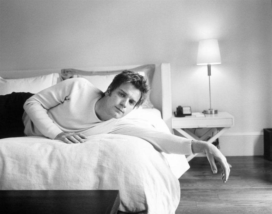 Ewan McGregor in bianco e nero