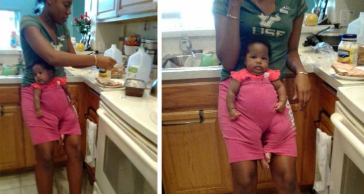 Lascia sua figlia con la baby-sitter, ma quando rientra...