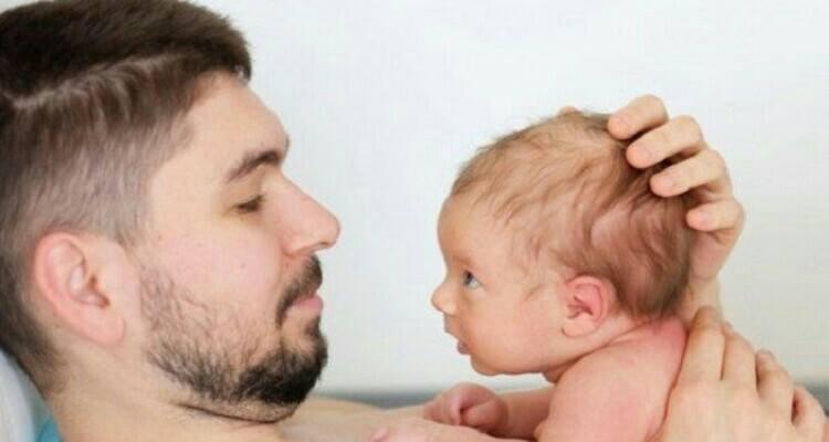 Il neonato riconosce il papà? Si, ma quando?
