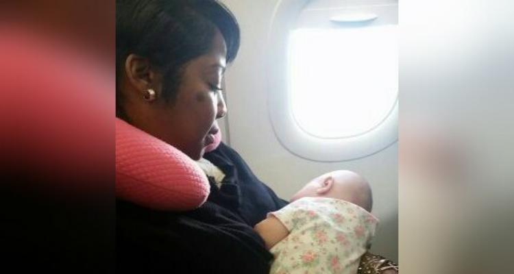Ero in aereo, non sapevo cosa fare, per fortuna quella sconosciuta