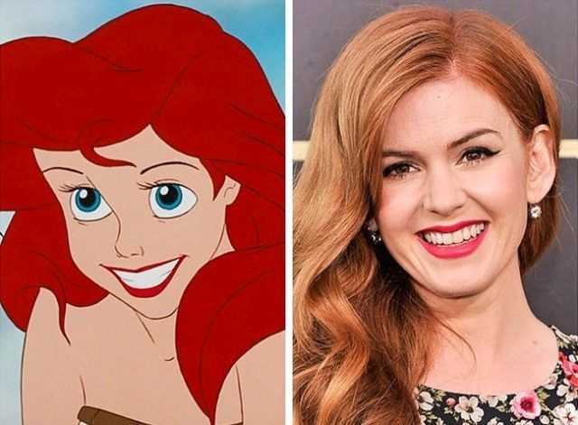 Ariel e Isla Fisher