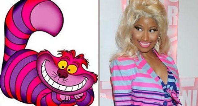Lo stregatto e Nicki Minaj