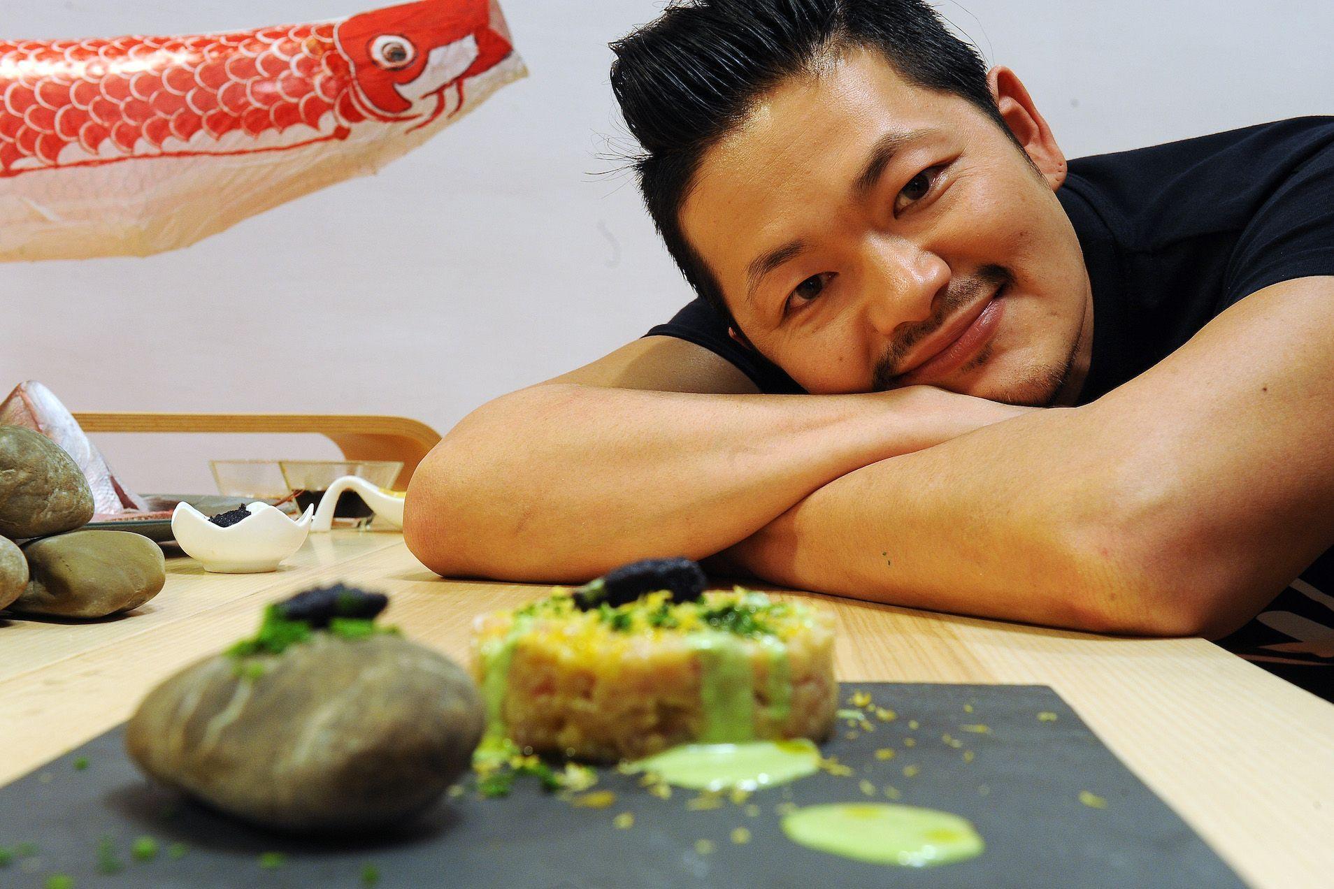 Programma Gambero Rosso Channel di chef Hiro © Francesco Vignali Photography