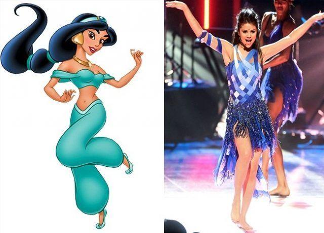 Jasmine e Selena Gomez