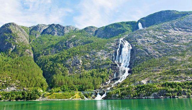 Langfoss, Norway