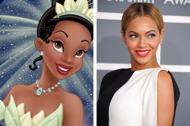 Tiana e Beyoncé