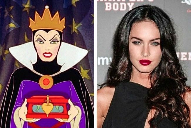 La Matrigna cattiva e Megan Fox