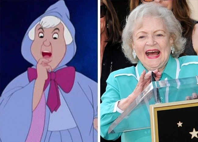 La fata madrina e Betty White