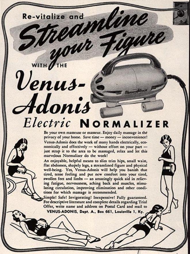 Venus Adonis, il vibratore per perdere peso