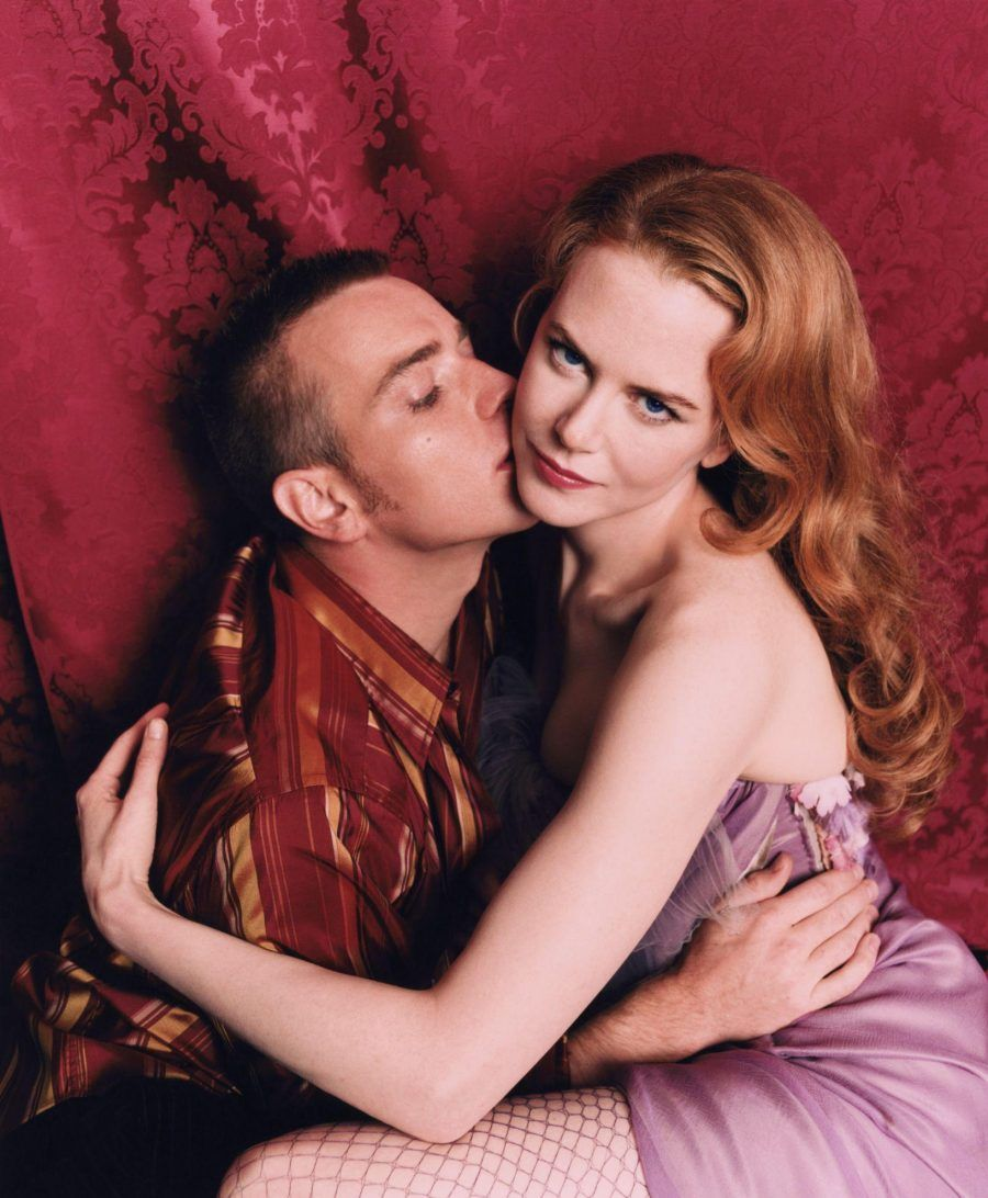 Ewan McGregor e Nicole Kidman in Moulin Rouge