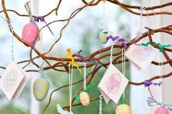 Come realizzare l'Albero di Pasqua fai da te