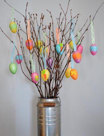 Alberi di Pasqua fai da te