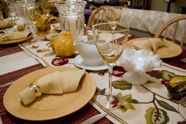 Come apparecchiare la tavola: stile autunnale
