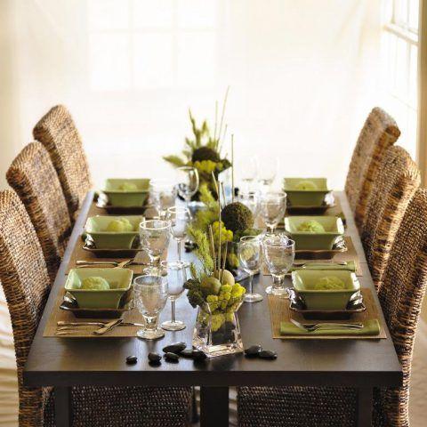 Come apparecchiare la tavola: stile moderno