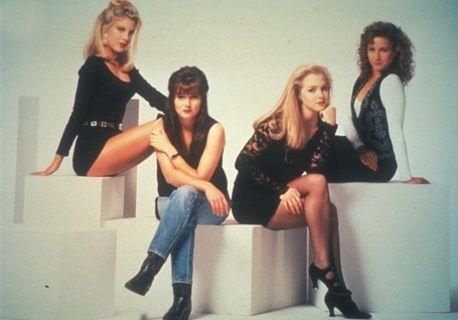 Il cast di Berverly Hills, le donne