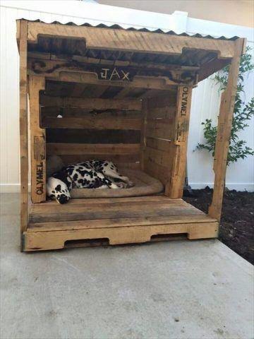 Cuccia di design per cani rustica