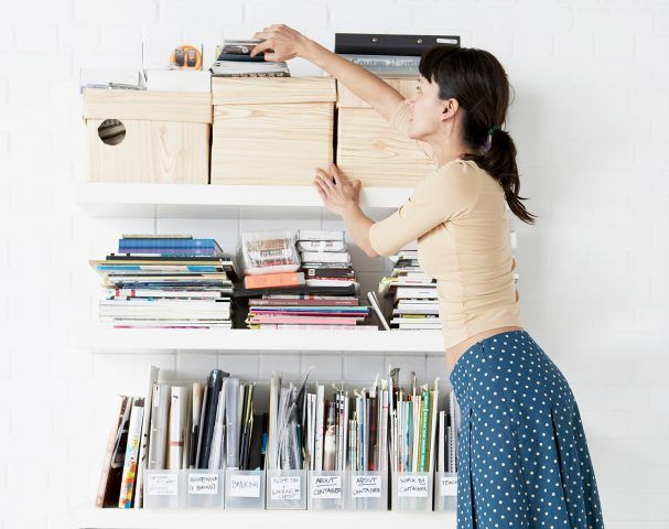 Per gli oggetti da buttare, invece, mi raccomando: fate la raccolta differenziata!