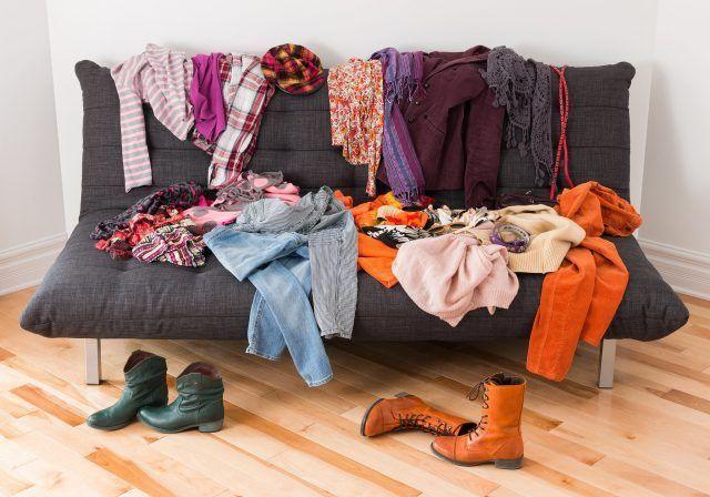 Infine, imparate a comprare solo ciò di cui avete bisogno, evitando di accumulare cose.