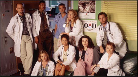 Il cast di ER