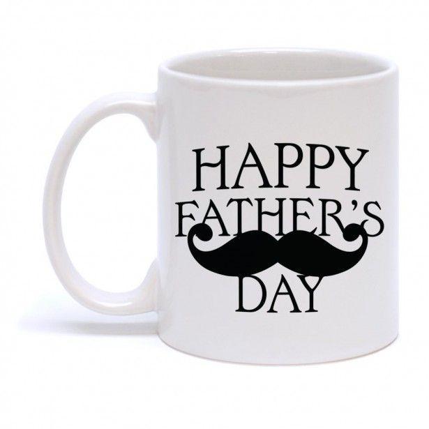 Festa del papà, tazza con dedica personalizzata