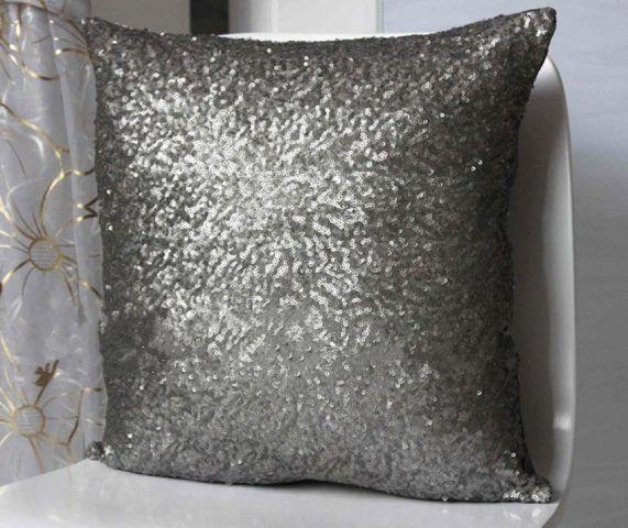 Cuscino glitter