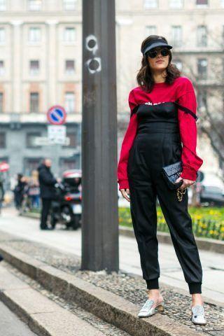 Non siamo riuscite a capire questo look di Eleonora Carisi... Voi che ne pensate?