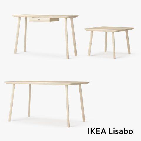 Ikea Lisabö, set di tavolini