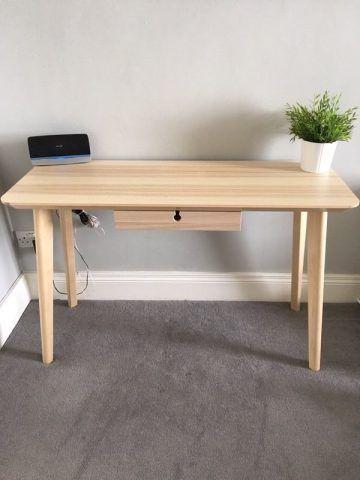 Ikea Lisabö, scrivania con cassetto