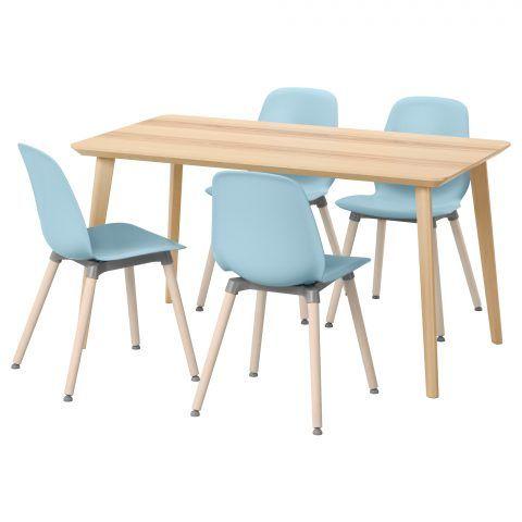 Ikea Lisabö, tavolo da cucina con sedie
