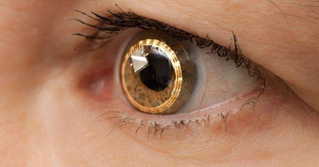 Le lenti a contatto in grado di registrare quello che vedono