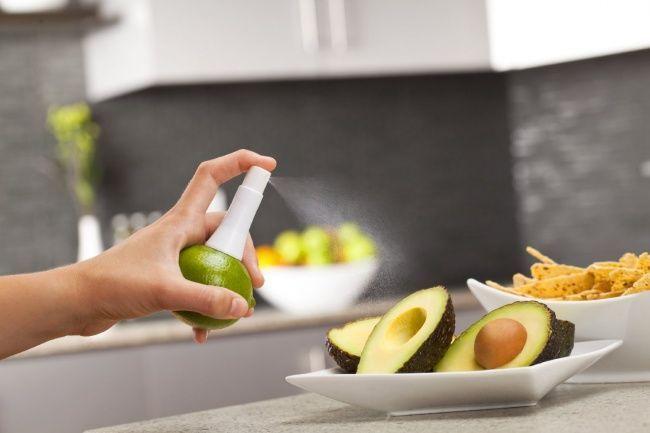Lo spray per pulire la frutta