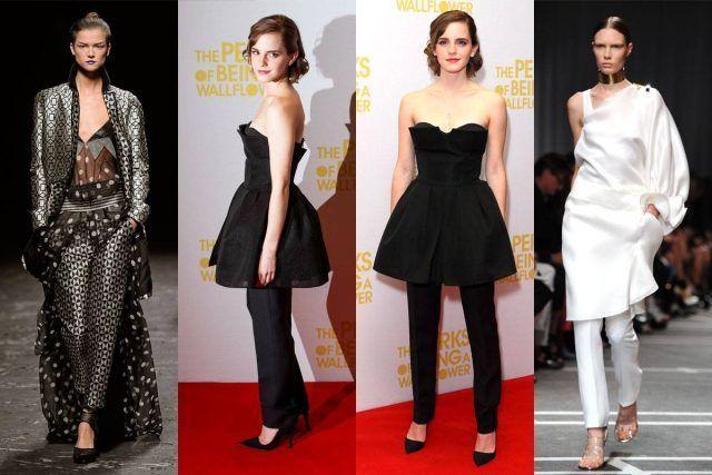 Emma Watson ha subito colto il trend
