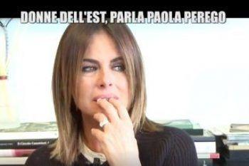Paola Perego piange a Le Iene