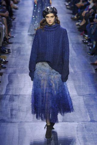 Paris Fashion Week, le donne tulle di Dior