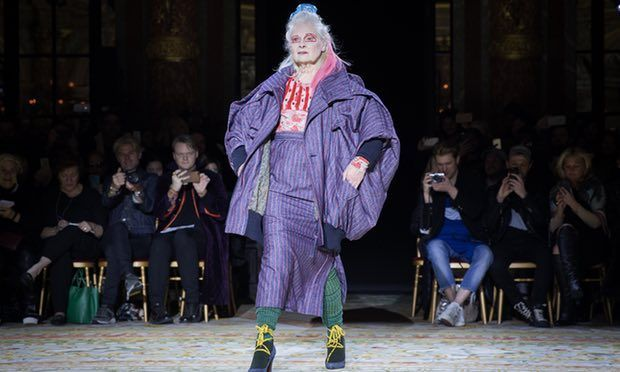 Paris Fashion Week, Vivienne Westwood, una regina!