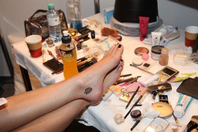 I piedi di Katy Perry