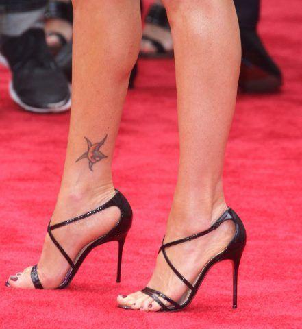 I piedi di  Megan Fox