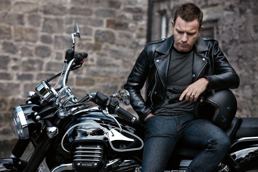 Ewan McGregor in moto