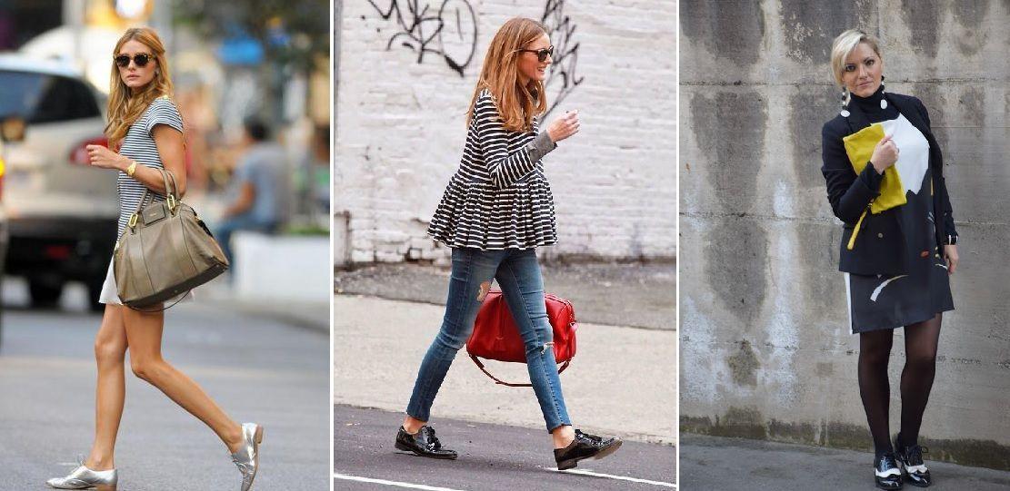 Olivia Palermo e le it girl insegnano come indossare le stringate. Le scarpe  stringate si possono facilmente abbinare ... eed5106bd0d