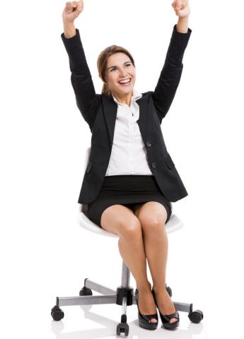 Allenatevi a stare sedute bene: all'inizio non vi sembrerà una posizione naturale, ma poi vi abituerete.